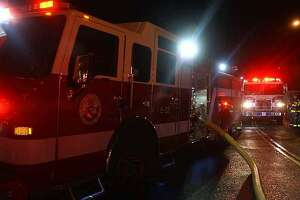 A family of seven has been displaced following a Sunday night fire on Boulevard Drive in Danbury, Conn.