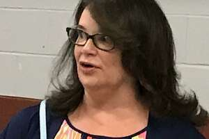 Amy O'Brien, principal of of Doolittle Elementary School in Cheshire