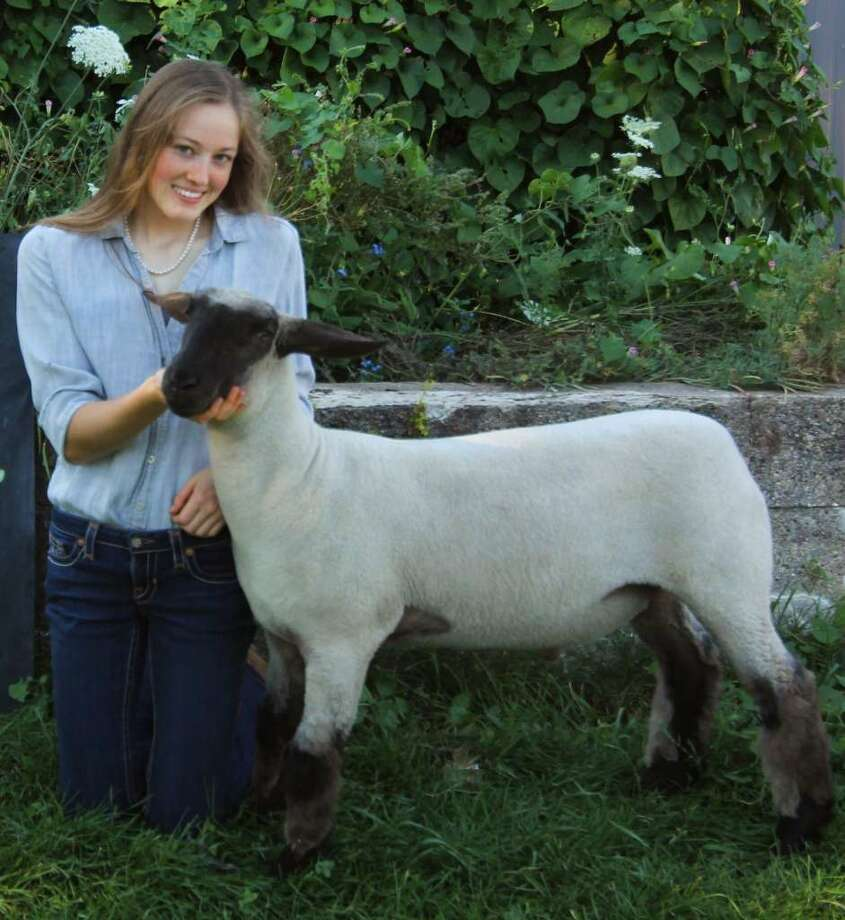 The 2020 Manistee 4-H Livestock Showcase was held remotely in August due to the pandemic. Mercy Sobkoviak won grand champion honors as a senior in sheep, goat and swine showmanship during the virtual showcase. Photo: Courtesy Photo