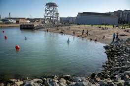 Crane Cove Park is seven acres of public recreational space along the former industrial shoreline.