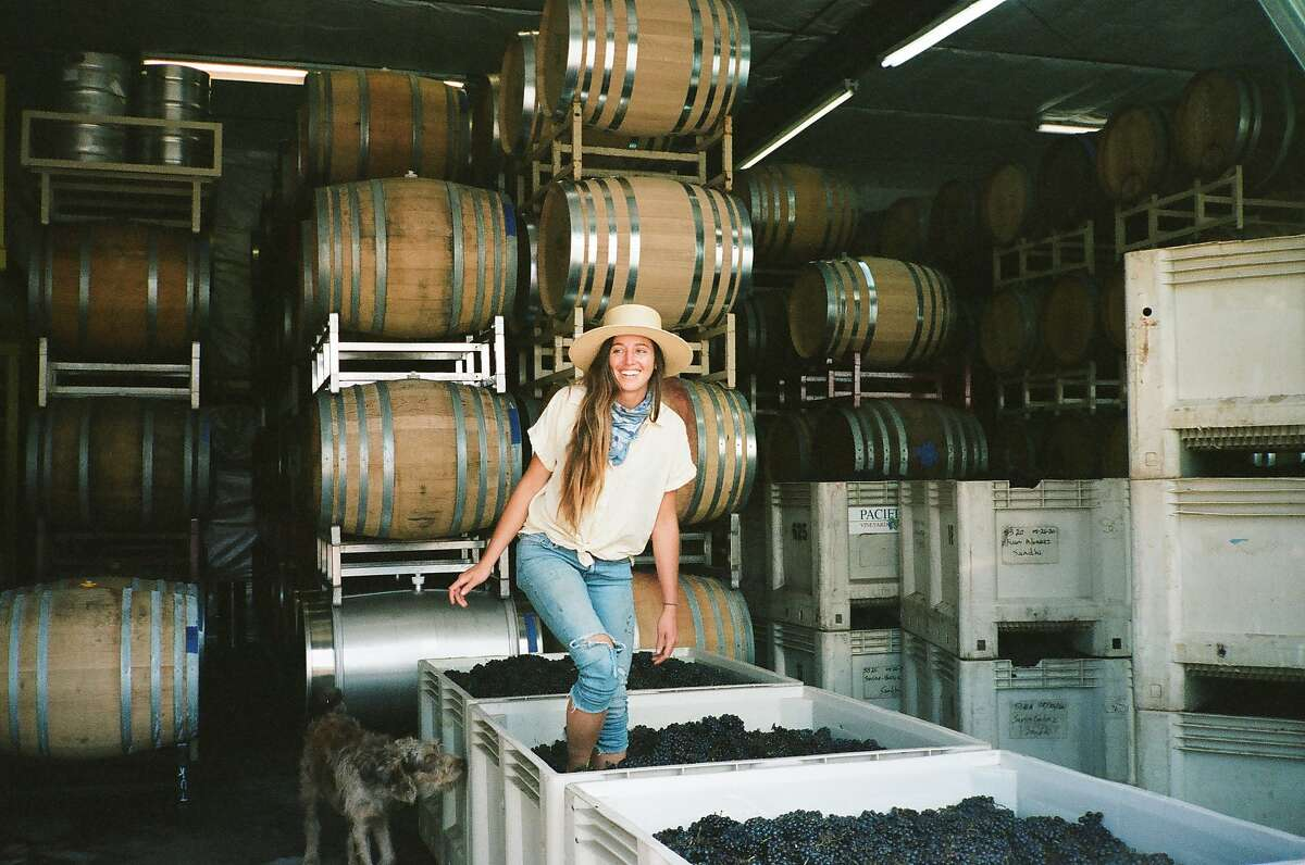 Gina Giugni makes wines under her label, Lady of the Sunshine, with grapes sourced mostly from San Luis Obispo County.