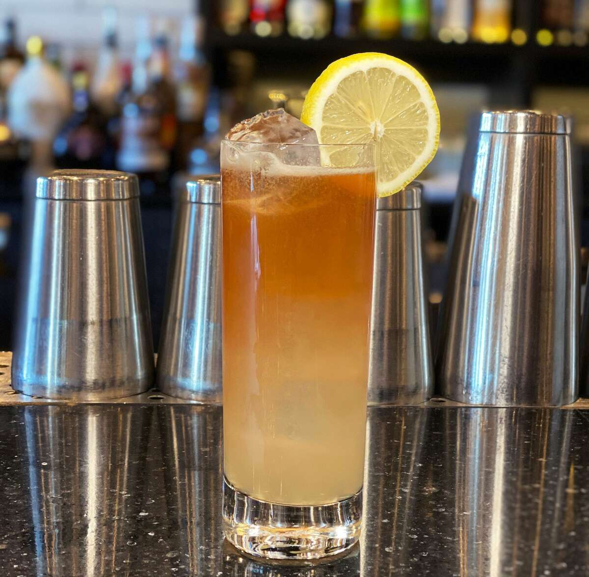 The Schenecta-Tea cocktail at The Shaker & Vine in Schenectady. (Provided photo.)