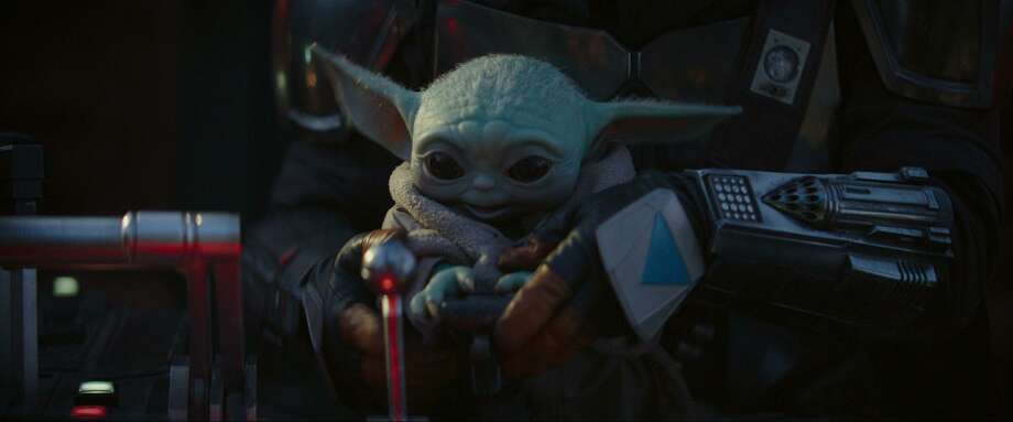 """The Child, better known as Baby Yoda, is on his way home in season two of """"The Mandalorian."""" Photo: Disney+ / TNS"""