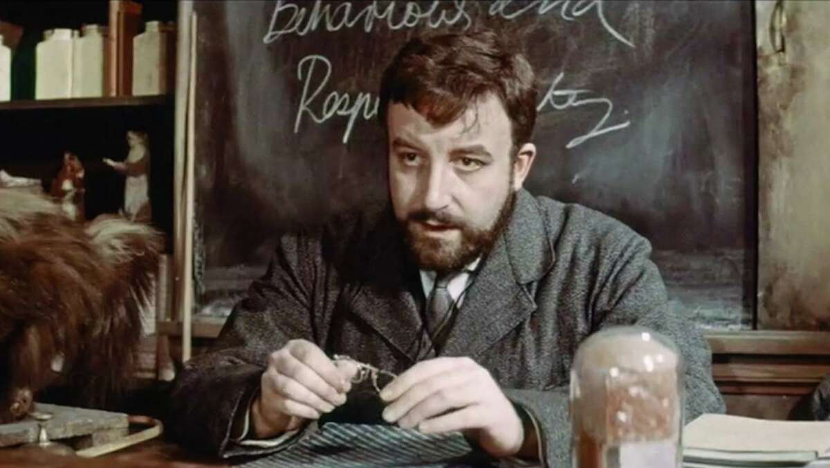 """Peter Sellers stars as a small-town teacher in """"Mr. Topaze,"""" the only movie he ever directed."""