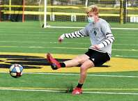 Hand's Scott Testori scored three goals in a win over Branford last week.