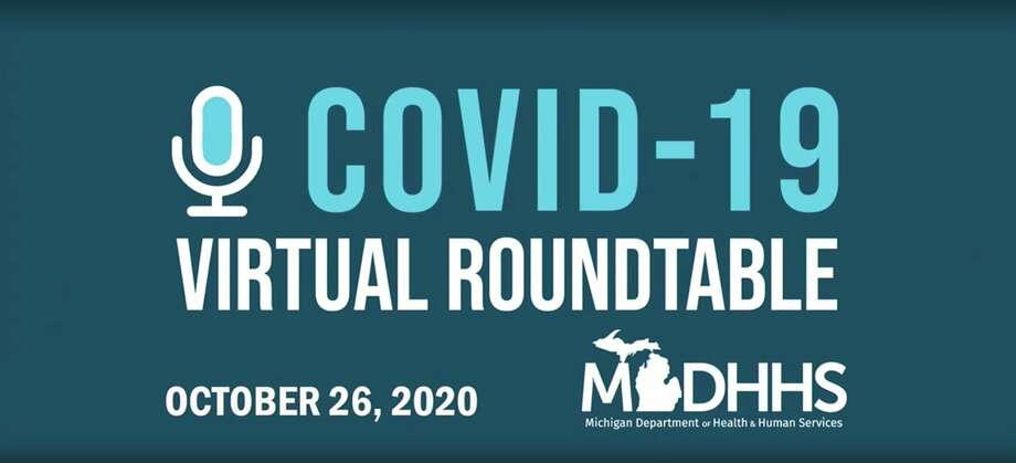 National, state and area experts in public health gathered Monday afternoon for a virtual roundtable to discuss COVID-19. (Screenshot/Microsoft Teams)