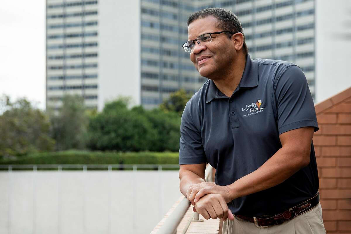 Dr. Anthony Iton works with California Endowment, an organization providing grants to help get the highest-risk people vaccinated.