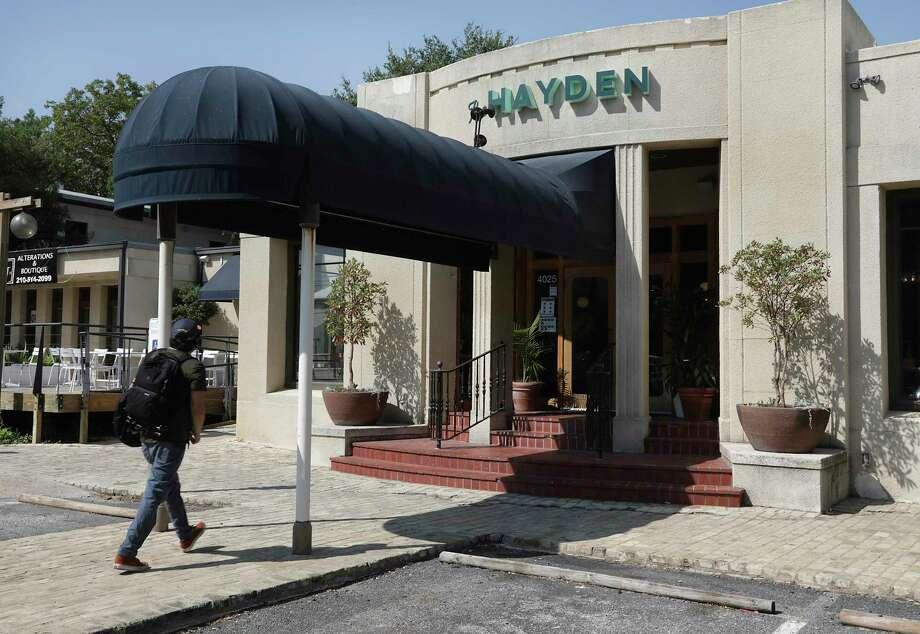 Adam Lampinstein opened a new Jewish delicatessen-inspired restaurant called The Hayden on Broadway in October. / ©2020 San Antonio Express-News