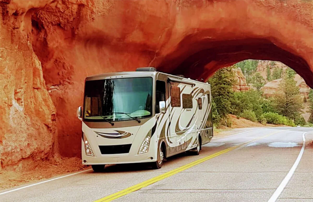 Class A rental motor homes are more luxurious and spacious, but driving one is like driving a bus.