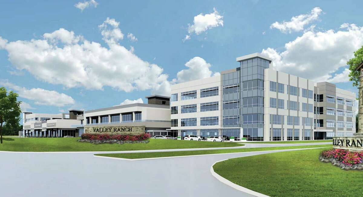The Signorelli Company broke ground on a medical district in the Valley Ranch development in New Caney, Texas.