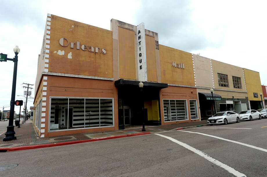 A former antique mall on Orleans Street is being looked at for rezoning and possible development as a downtown hotel by an interested buyer. Photo taken Monday, October 26, 2020 Kim Brent/The Enterprise Photo: Kim Brent/The Enterprise