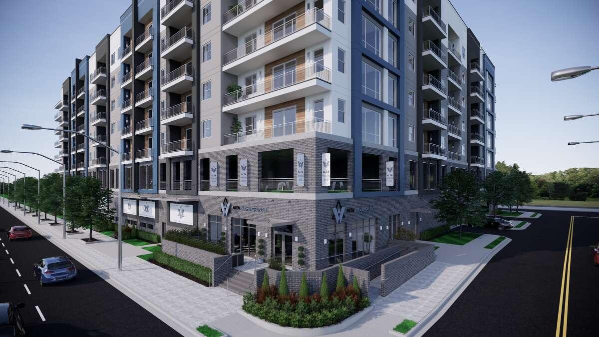 Wood Partners announced the opening of the Alta Washington apartments at 6400 Washington Ave.