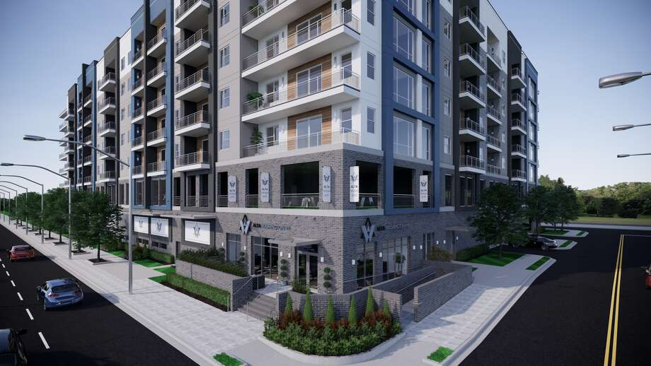 Wood Partners announced the opening of the Alta Washington apartments at 6400 Washington Ave. Photo: Wood Partners