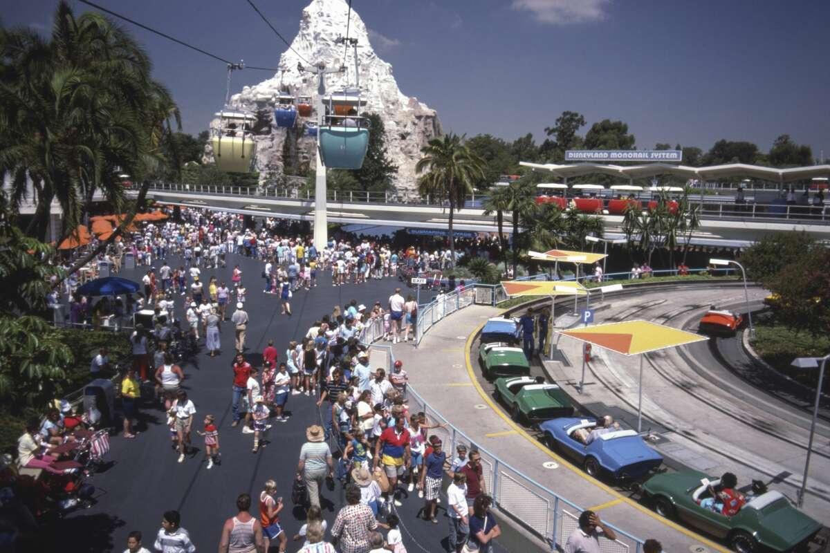 Disneyland in 1987