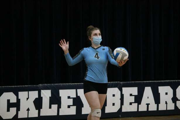 The Brethren Bobcats take on Buckley in a road volleyball match on Oct. 26.