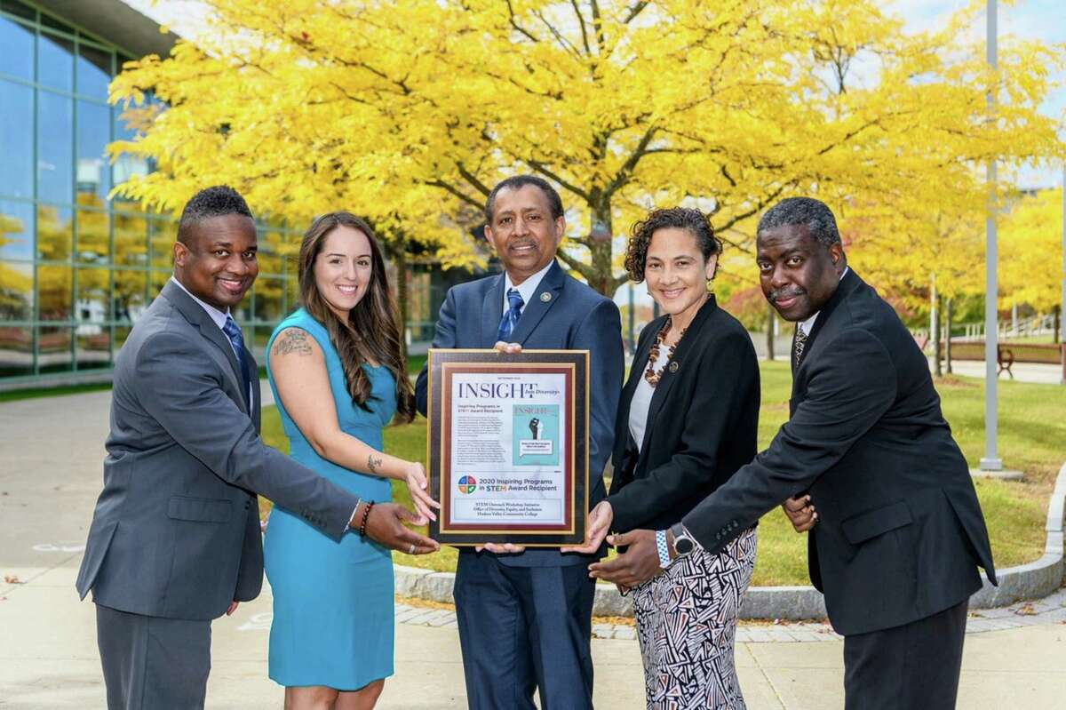 Hudson Valley Community College's Office of Diversity, Equity and Inclusion (ODEI) is one of 74 colleges and universities to receive national recognition for programs that are making a difference for those who are underrepresented in the fields of Science, Technology, Engineering and Mathematics (STEM).