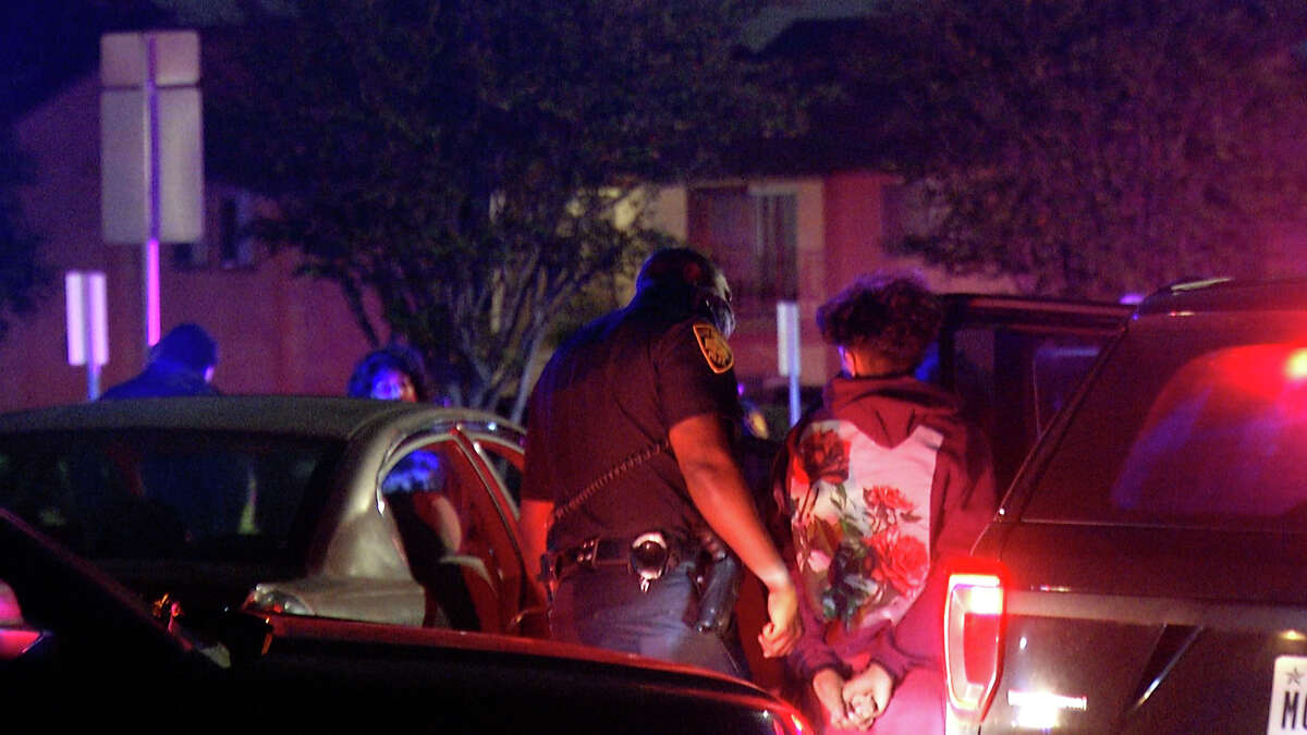 Nearly two dozen people were arrested Monday night as San Antonio police attempt to curb illegal street racing through city streets.