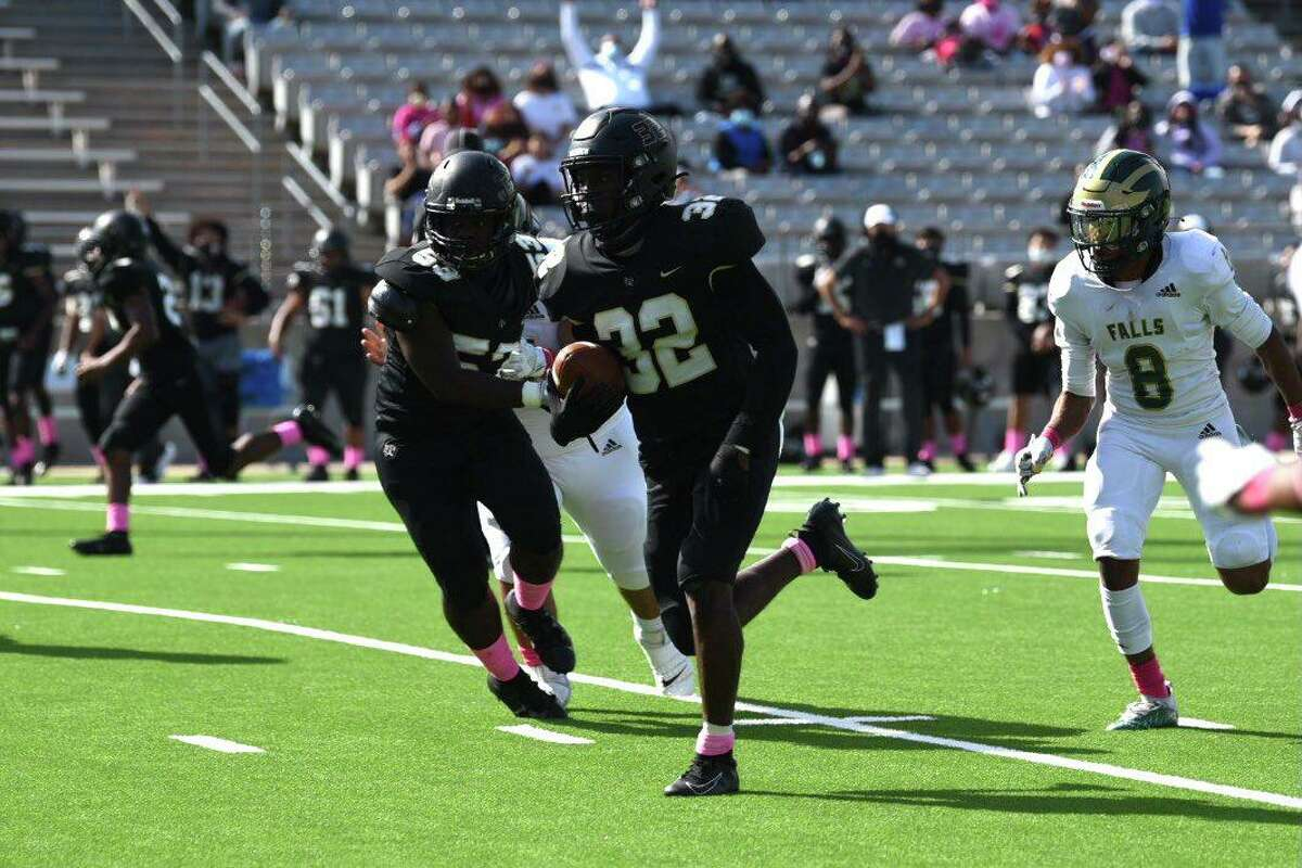 Cy Park defeated Cy Falls 61-41 in District 16-6A, Oct. 24, at Cy-Fair FCU Stadium.
