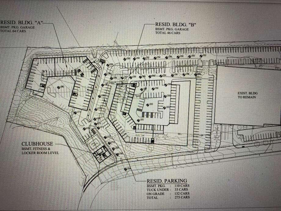 Shelton Parrot Associates' plans for a residential development at 1 Parrot Drive. Photo: Shelton Parrot Associates / Contributed Photo / Connecticut Post