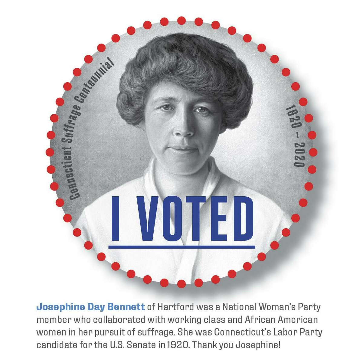 Josephine Day Bennett was a white woman who fought for suffrage for all women.