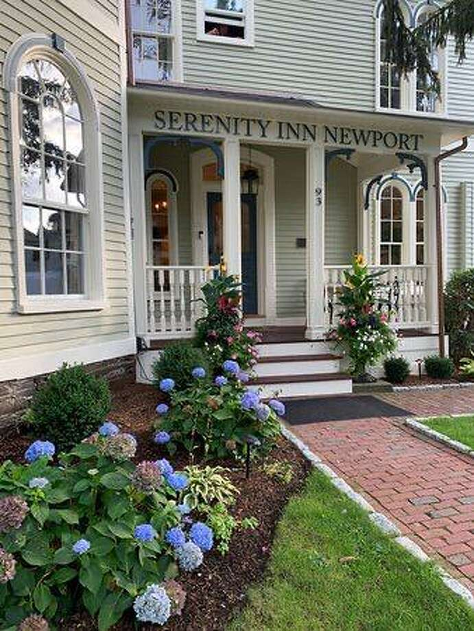 One of the New Canaan Library's Lit Lunch at Night online auction items is a weekend getaway to Newport, Rhode Island with a stay at the historic Serenity Inn. The library is going to have its event November 13 with the online auction from November 2 through November 16 at noon. Photo: New Canaan Library / Contributed Photo