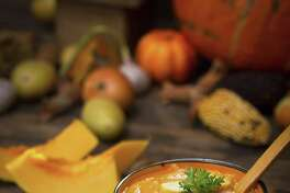Celebrate Halloween a little differently this year with Blue Moon Pumpkin Soup.