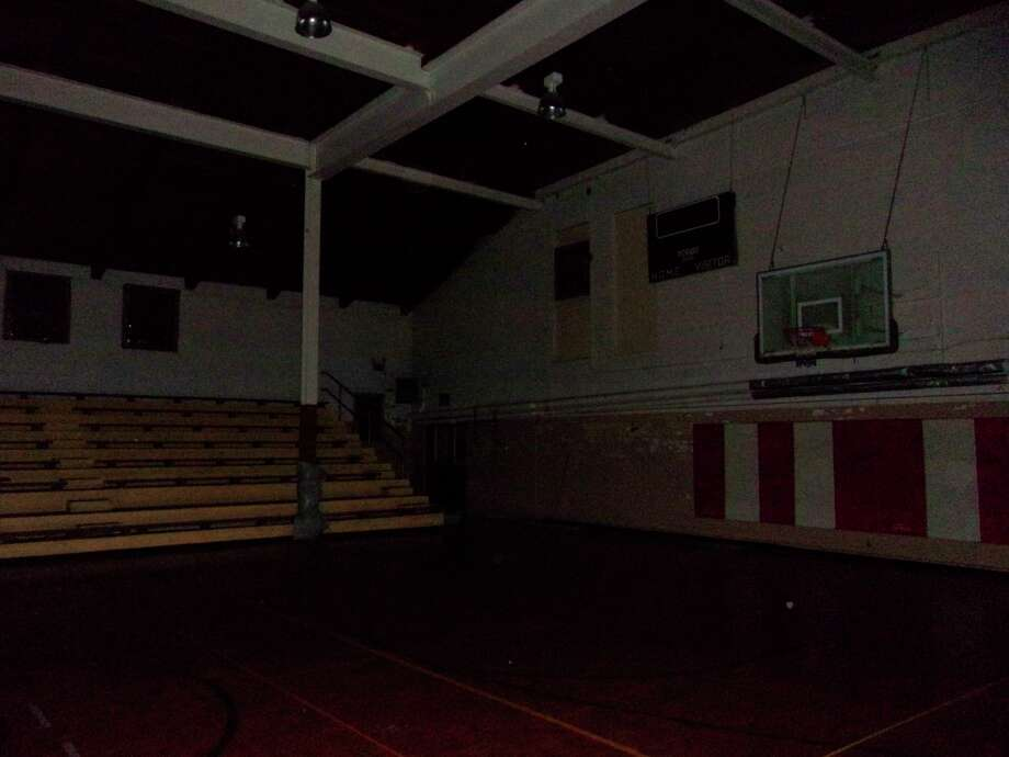 The Port Austin gymnasium is part of the school built in 1853 which has been long unused. (Courtesy Photo)