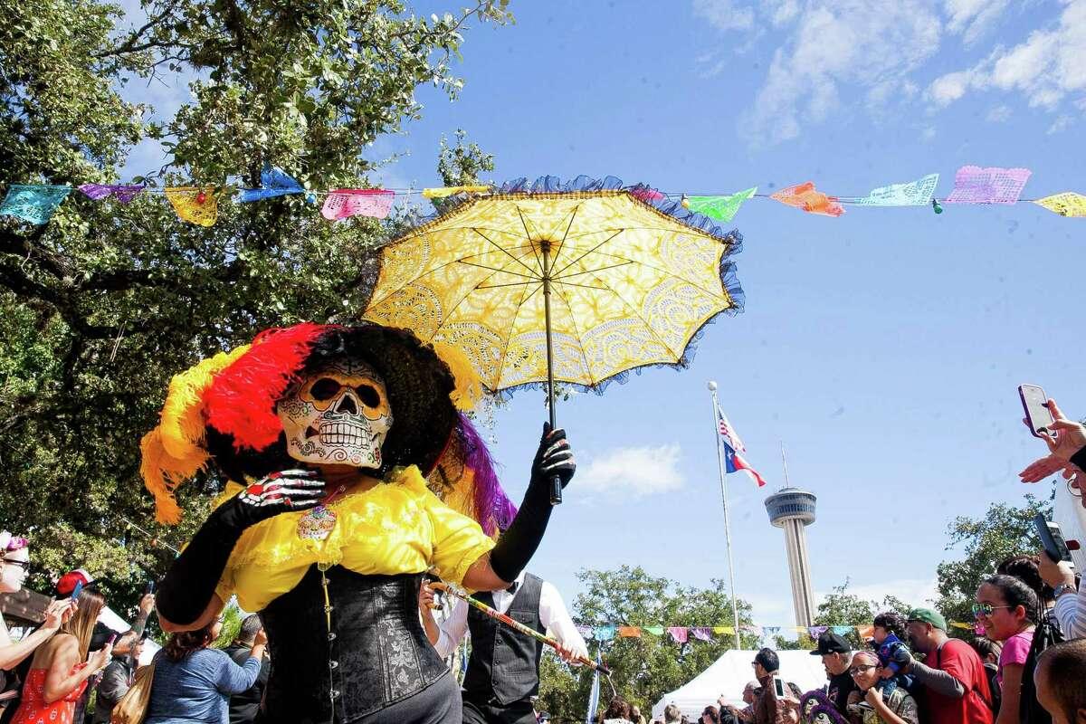 File photo from a previous Día de Los Muertos-Muertos Fest.