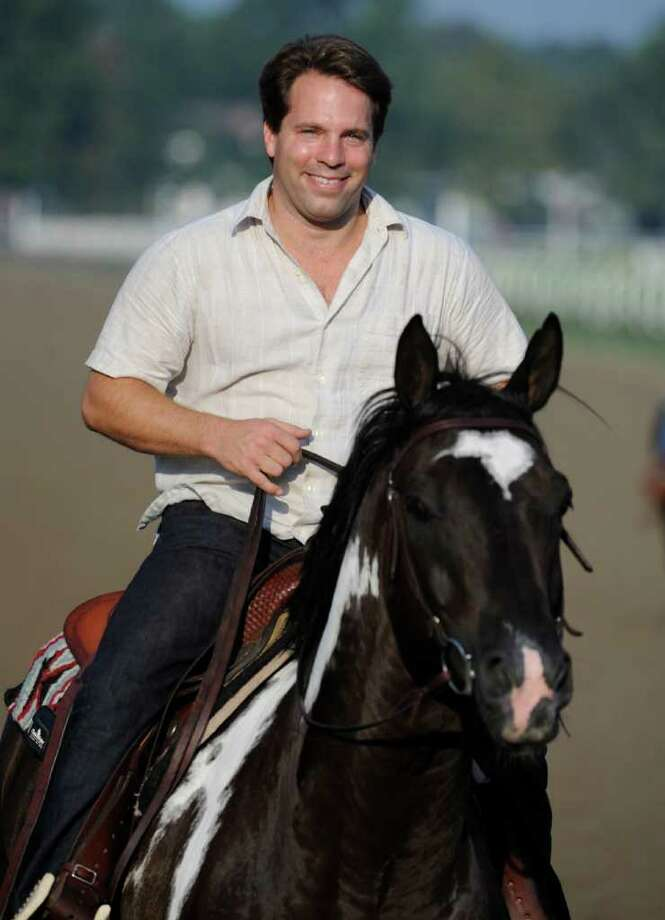 Will Phipps is hoping to get his first win during the final days of the meet at Saratoga Race Course by running many of the 17 horses he has in training. (Skip Dickstein/Times Union) Photo: Skip Dickstein / 2008
