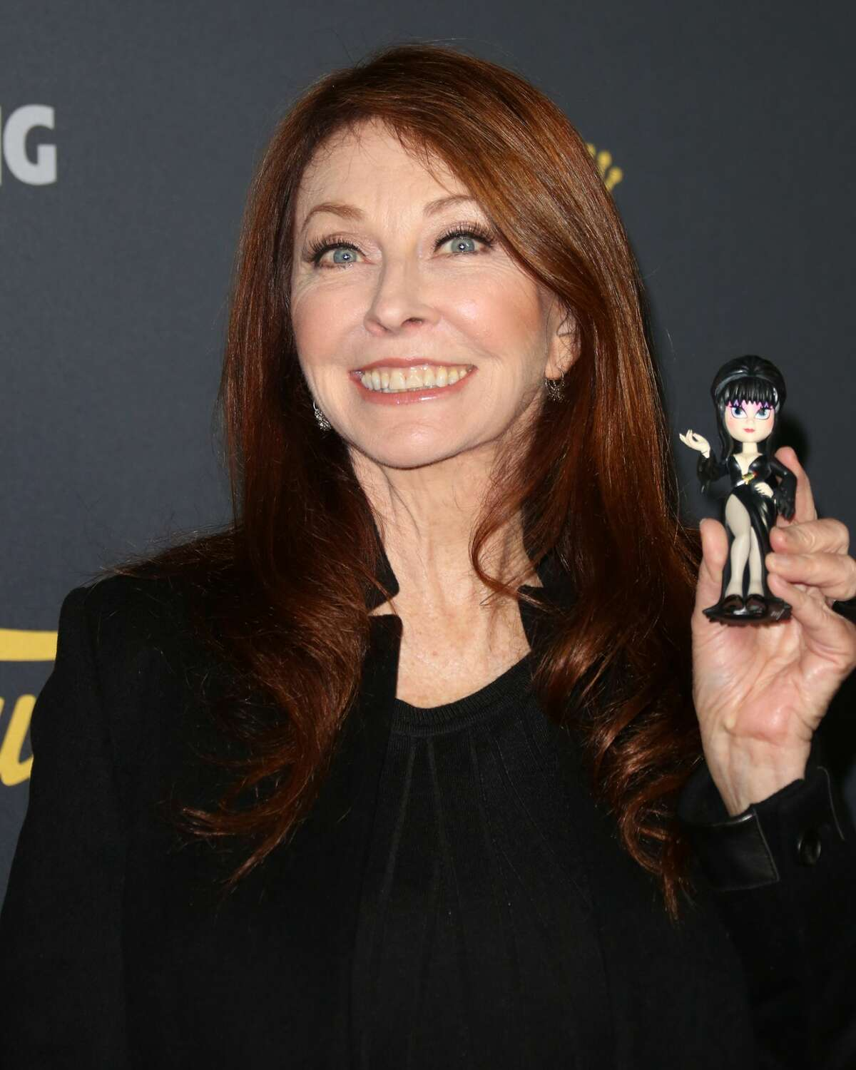 HOLLYWOOD, CA - JANUARY 22: Actress Cassandra Peterson attends the premiere of