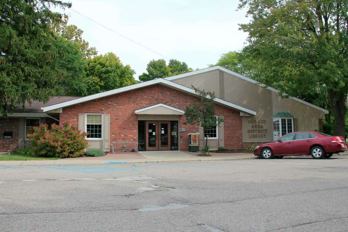 The Bad Axe Area District Library, which will be hosting a Halloween parade on Oct. 31. (Tribune File Photo)
