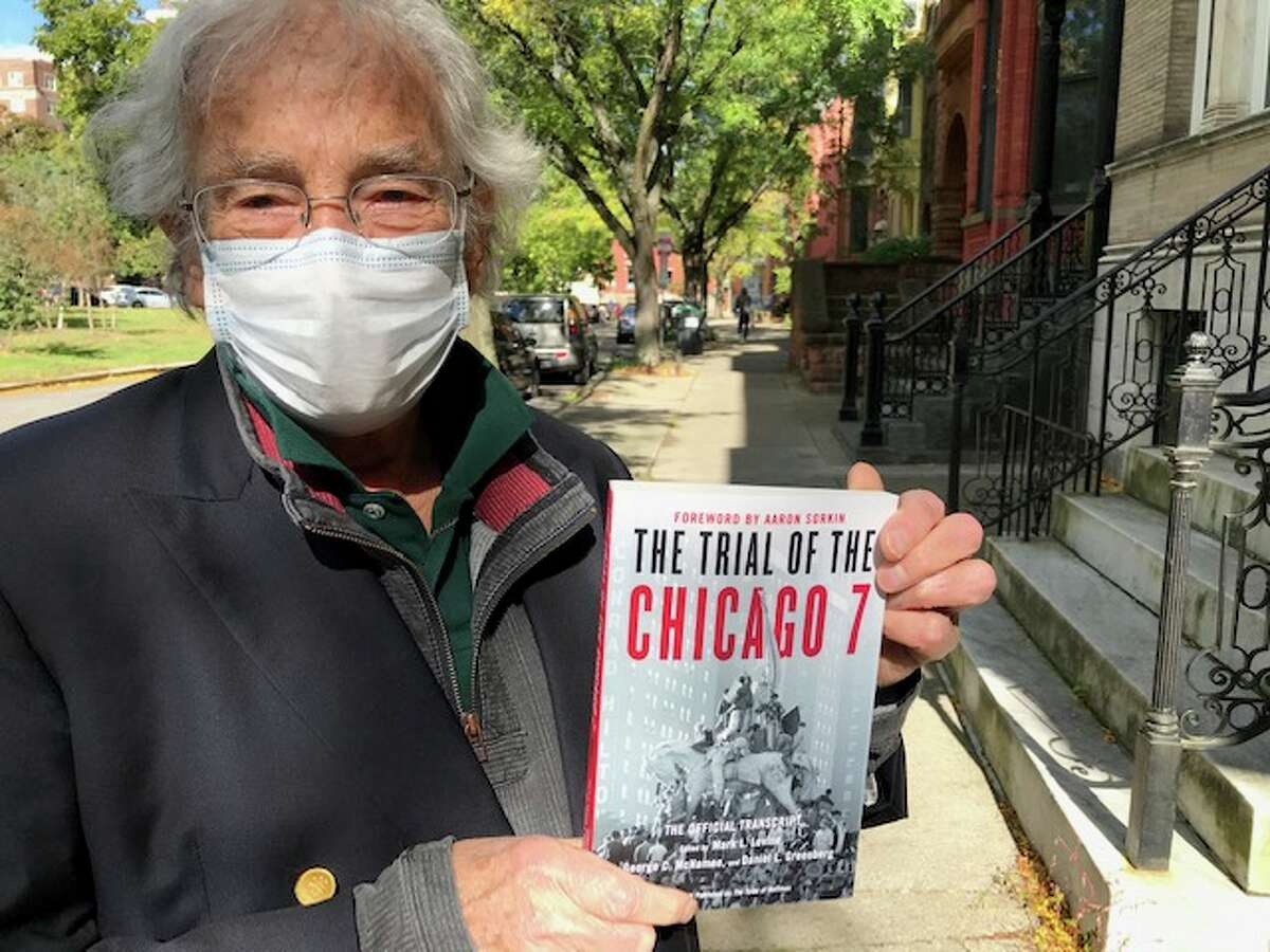 George McNamee, 74, of Albanywas an anti-Vietnam War demonstrator in the late-1960s and co-editor of the 1970 book on the trial of anti-war protesters at the 1968 Democratic National Convention in Chicago. It has been republished in a 50th-anniversary edition to coincide with the Aaron Sorkin movie,