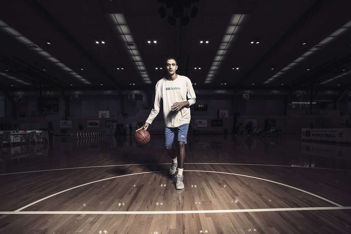 Princepal Singh, a 6-foot-10 teenager, hopes to become the first India-born player to make it to the NBA.