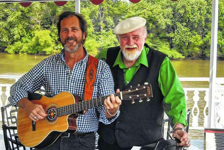 Barry Cloyd (left) and Ken Bradbury in 2018. Photo: Journal-Courier