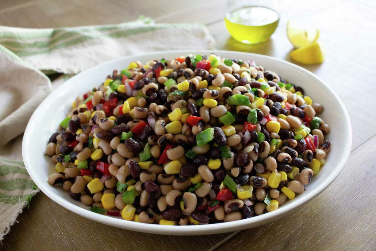 The Texas Caviar from Roegels Barbecue Co. is the perfect accompaniment to backyard barbecue and grill meals.