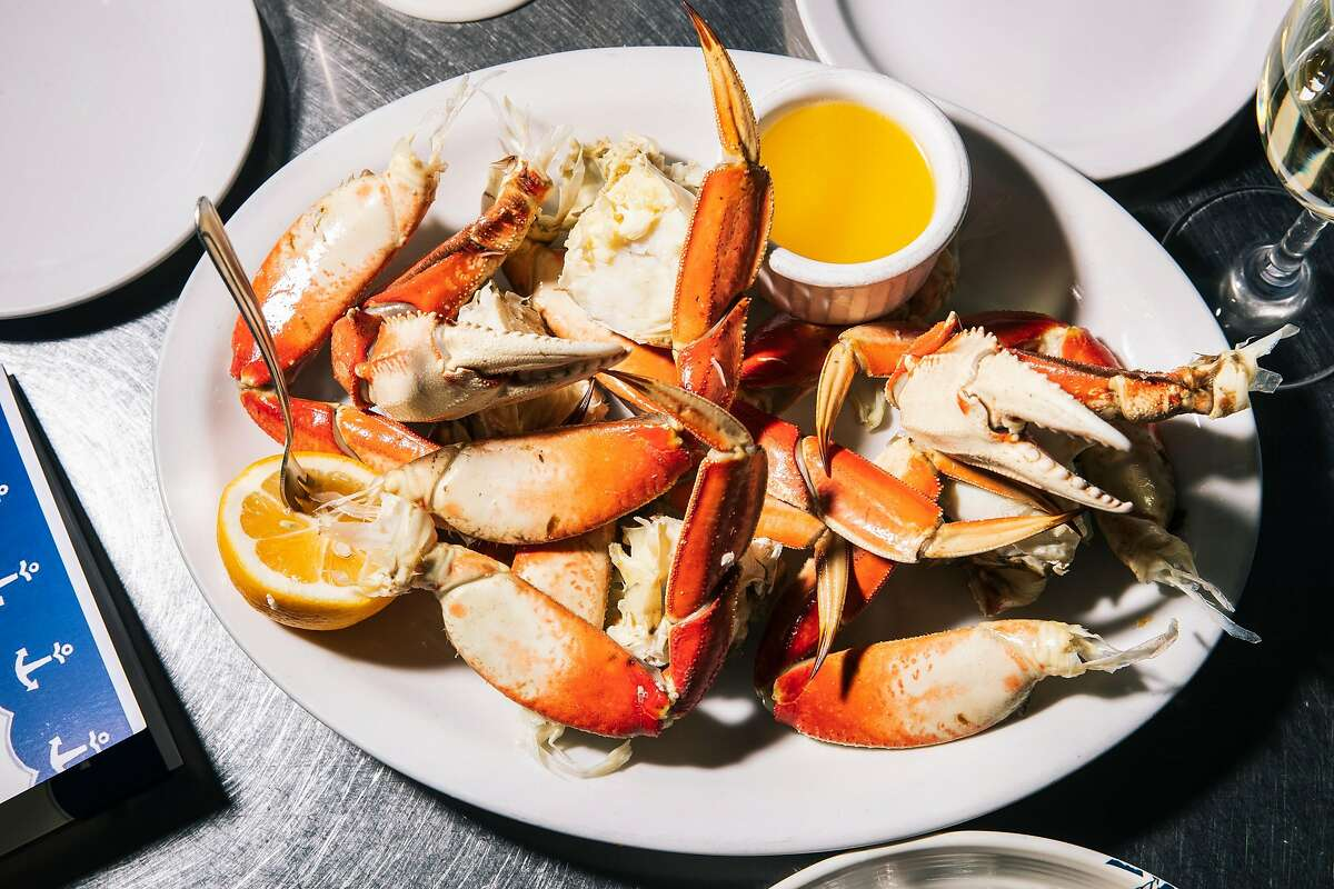 Cracked Dungeness crab, photographed at Anchor Oyster Bar in San Francisco, is something you can easily make at home.