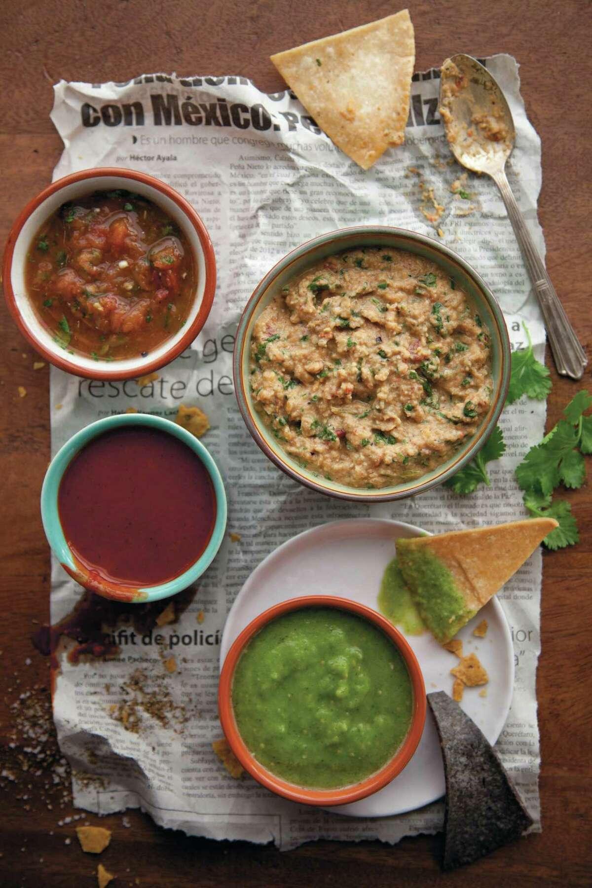 "Salsas featured in ""Hugo Ortega's Street Food of Mexico"""