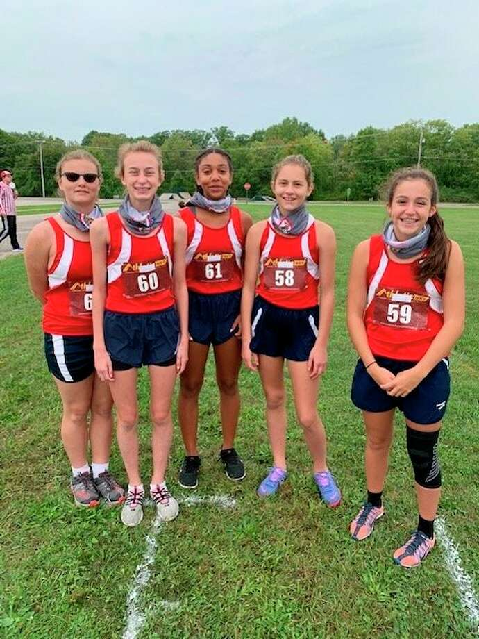 From left to right: Isabelle Wahl, Amelia Thompson, Samara Turner, Kaitlin Buys and Jackie Cole. (Courtesy photo)