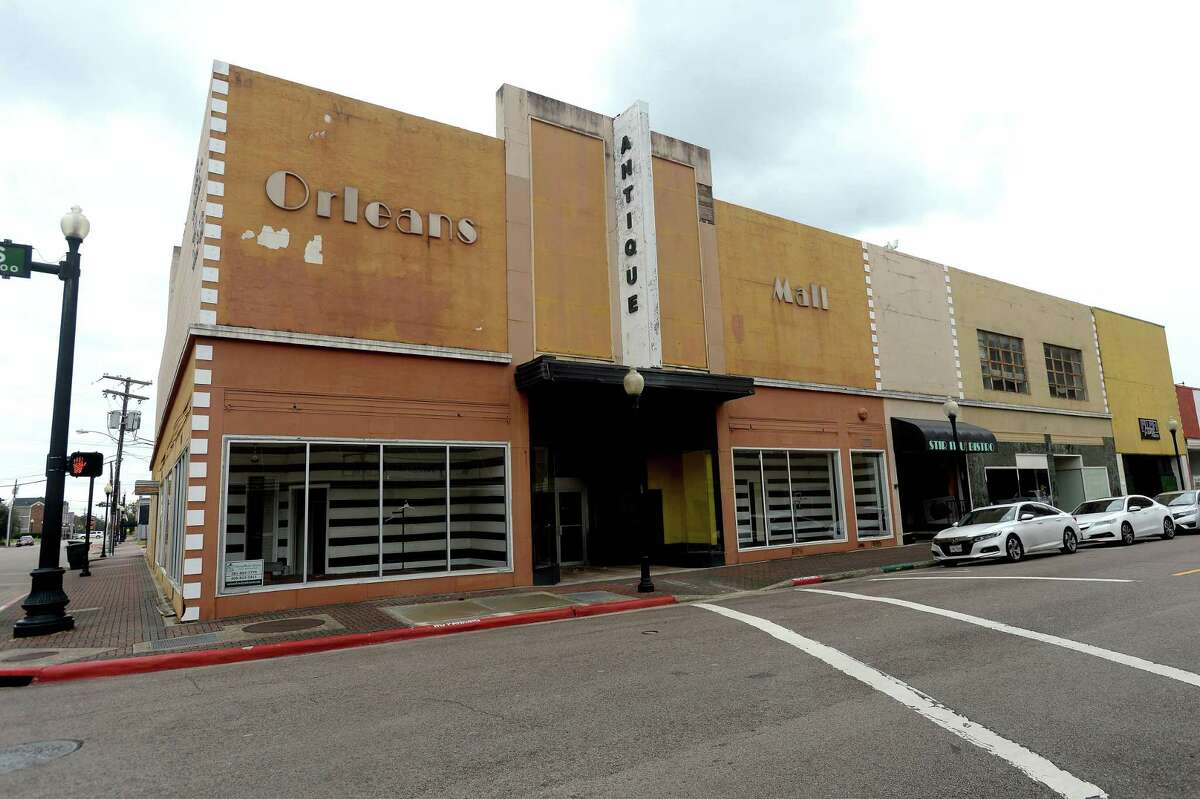 A former antique mall on Orleans Street is being looked at for rezoning and possible development as a downtown hotel by an interested buyer. Photo taken Monday, October 26, 2020 Kim Brent/The Enterprise