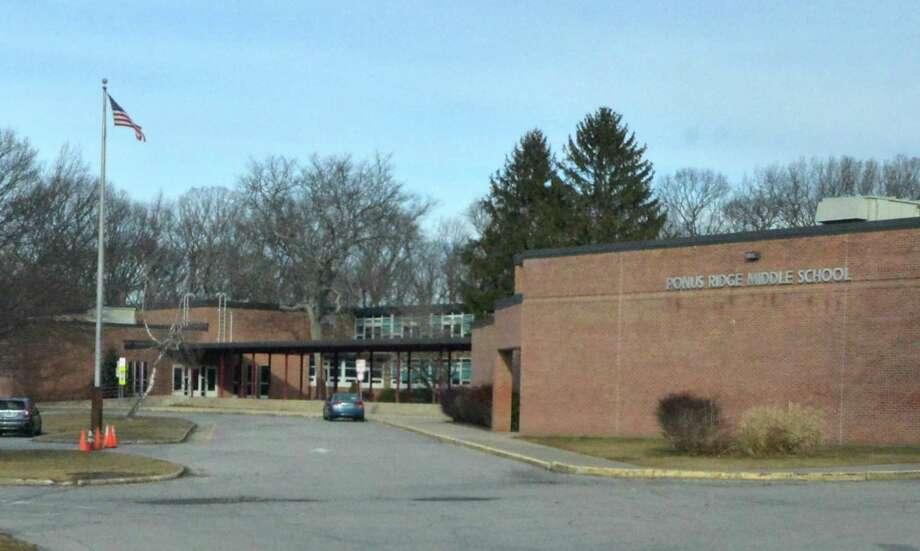 Ponus Ridge Middle school in Norwalk, Conn. Photo: Alex Von Kleydorff / Hearst Connecticut Media / Connecticut Post