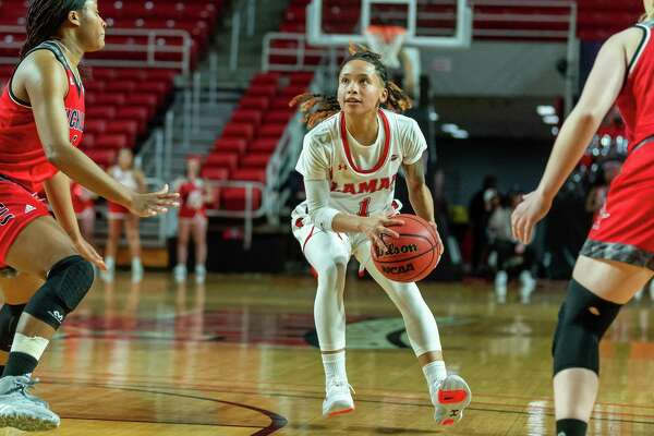 Nicholls State University women's basketball came to town to battle with the Lamar Lady Cardinals on February 12, 2020. Fran Ruchalski/The Enterprise