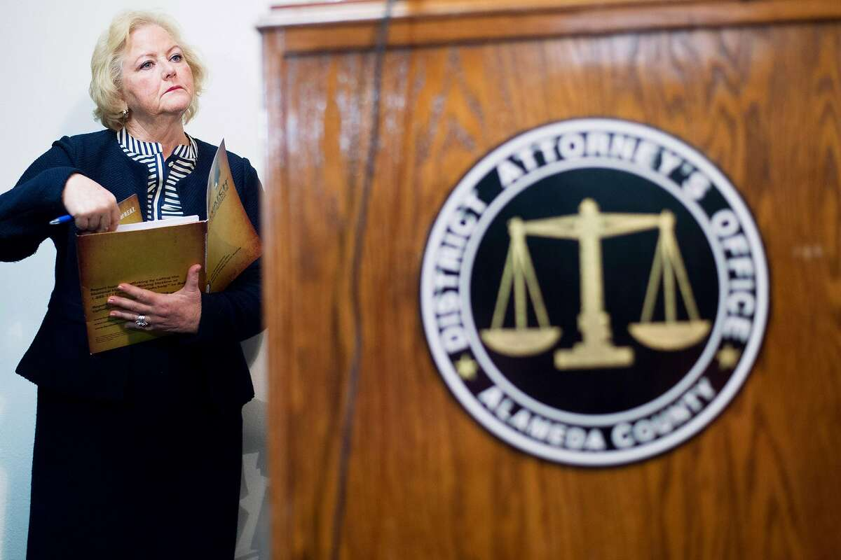 Alameda County District Attorney Nancy O'Malley, who had never charged an officer in a police killing, recently decided to move on two high-profile cases.