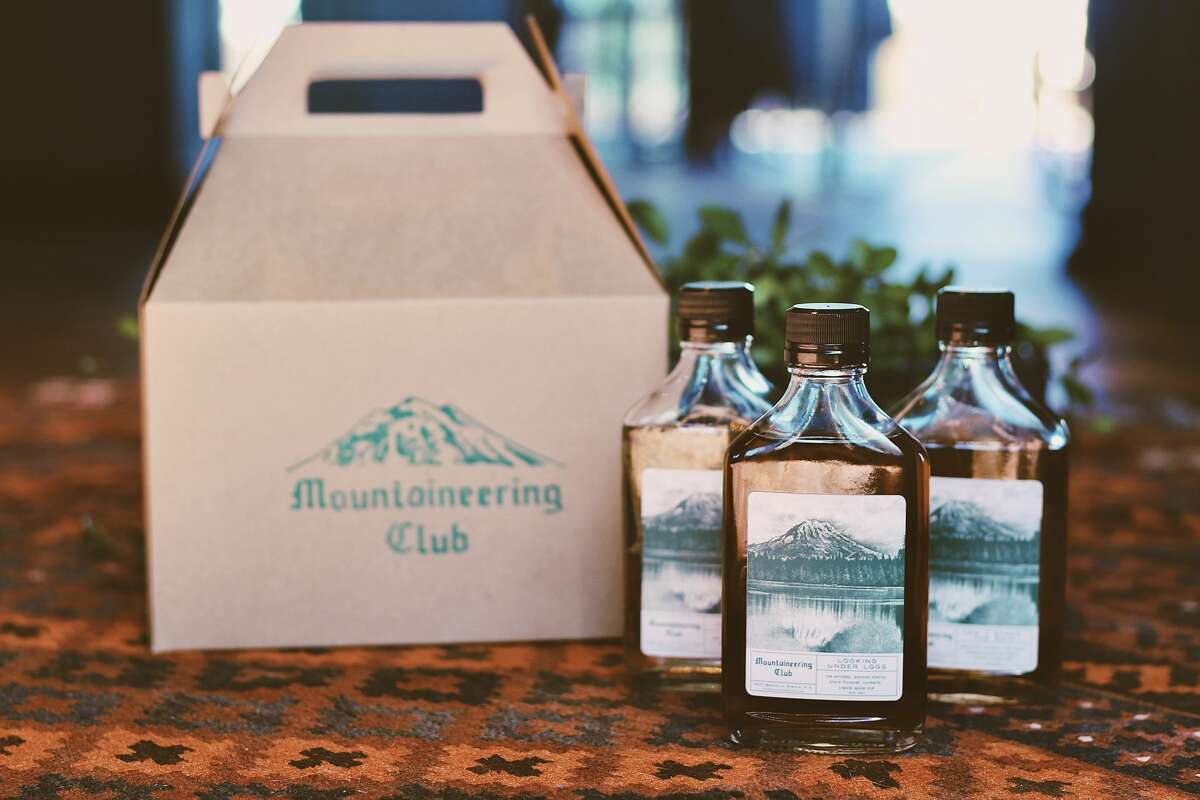 Mountaineering Club's creative take on a cocktail kit.