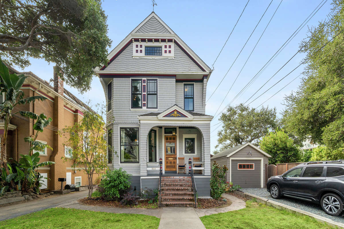 The home is five bed, three bath, offering 3,206 square feet.