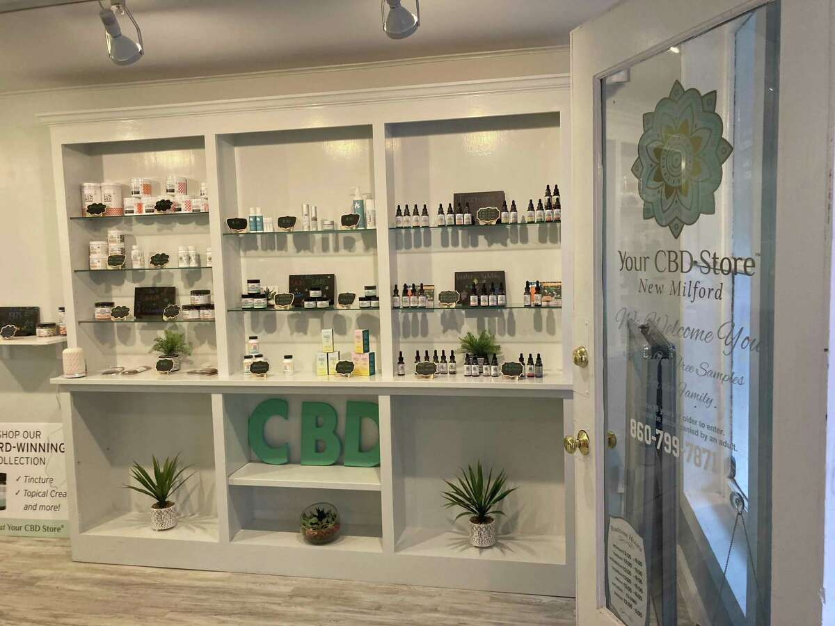 An inside look at Your CBD Store in New Milford.
