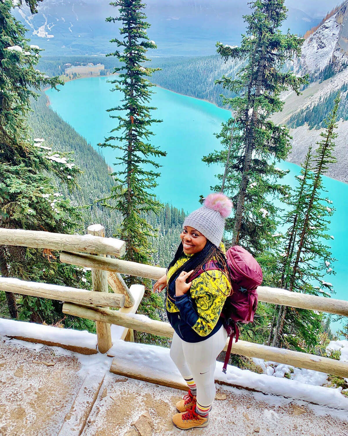 One of Kena Peay's all-time favorite natural spots is Banff National Park.