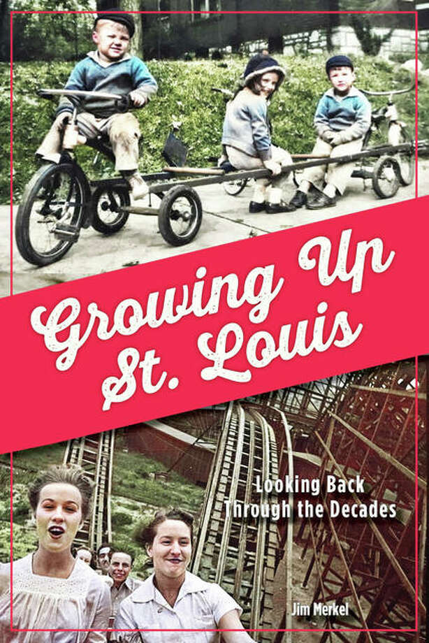 """Growing Up St. Louis: Looking Back Through the Decades,"" by Jim Merkel, is available wherever fine books are sold and autographed copies are available at the author's website, www.jimmerkelthewriter.com. The book's ISBN is 9781681062549 and sells for $20.95. It can also be ordered by calling 314-833-6600, faxing 866-999-6916 or emailing books@reedypress.com. Photo: For The Telegraph"