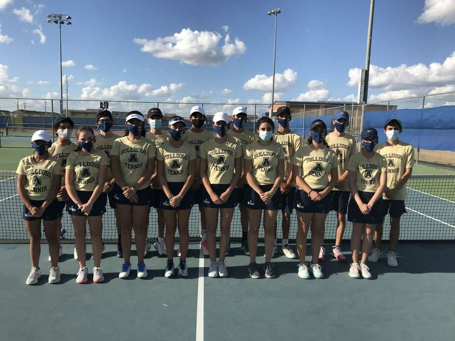 The Alexander tennis team swept 10-0 in the opening round of the playoffs against San Antonio Warren. The Bulldogs will play Edinburg North on Friday in Roma for the area championship. Photo: Courtesy /Alexander Athletics