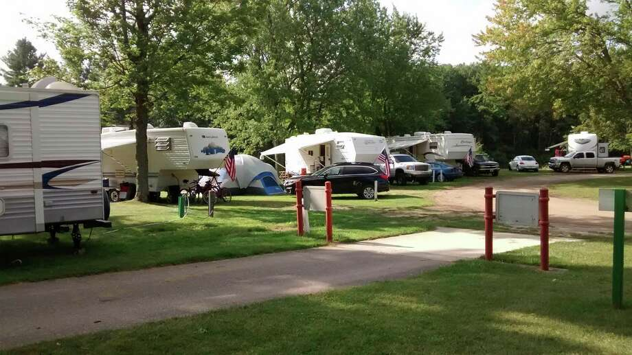 Riverside Park West campground was closed to camping this year due to the COVID-19 pandemic. An in-depth assessment of the facilities has shown a need for substantial upgrades, which the Evart city council is considering. (Submitted photo)