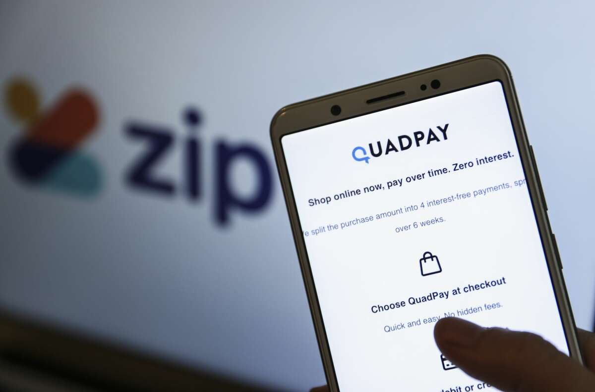 QuadPay is one of several services offering a buy now, pay later program. (Photo by Esra Hacioglu/Anadolu Agency via Getty Images)